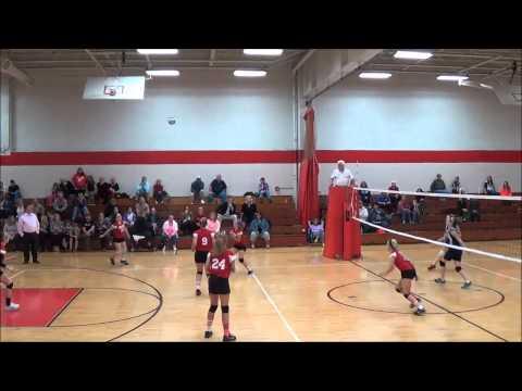 Goshen Warriors Volleyball vs. Blanchester 8th Grade 10/9/14