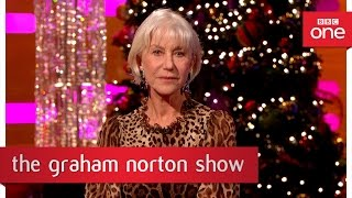Dame Helen Mirren's Royal Christmas Message - The Graham Norton Show 2016: Episode 12 - BBC One