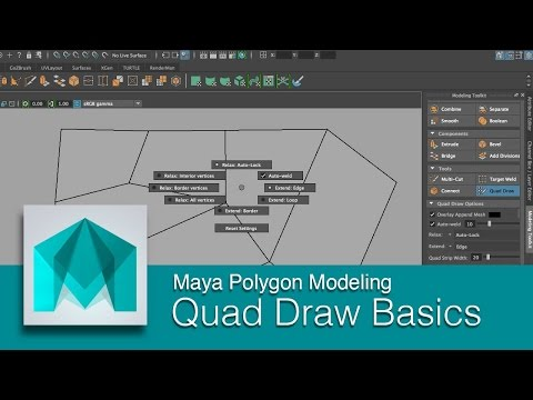 Repeat Maya: Quad Draw (Page Overview) by Create 3d