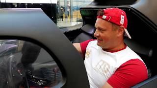 видео В Москву впервые привезут Бэтмобиль