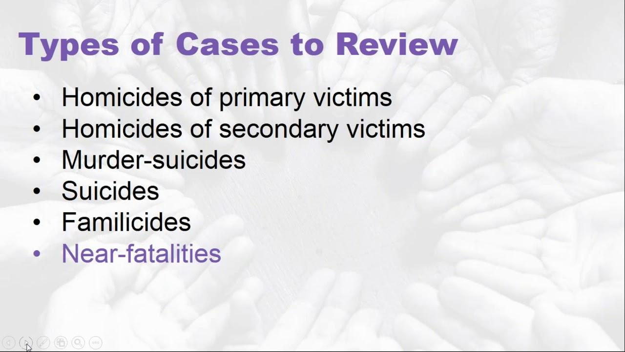 Webinars | Georgia Domestic Violence Fatality Review Project