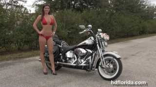 Used 2003 Harley Davidson Heritage Springer Motorcycle for sale