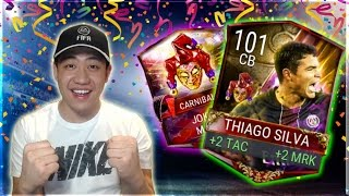 Fifa mobile carniball legend thiago silva gameplay/review!!
