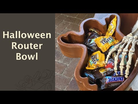 Halloween Router Bowl - 130
