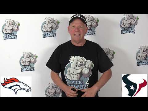 Houston Texans vs Denver Broncos NFL Pick and Prediction 12/8/19 Week 14 NFL Betting Tips