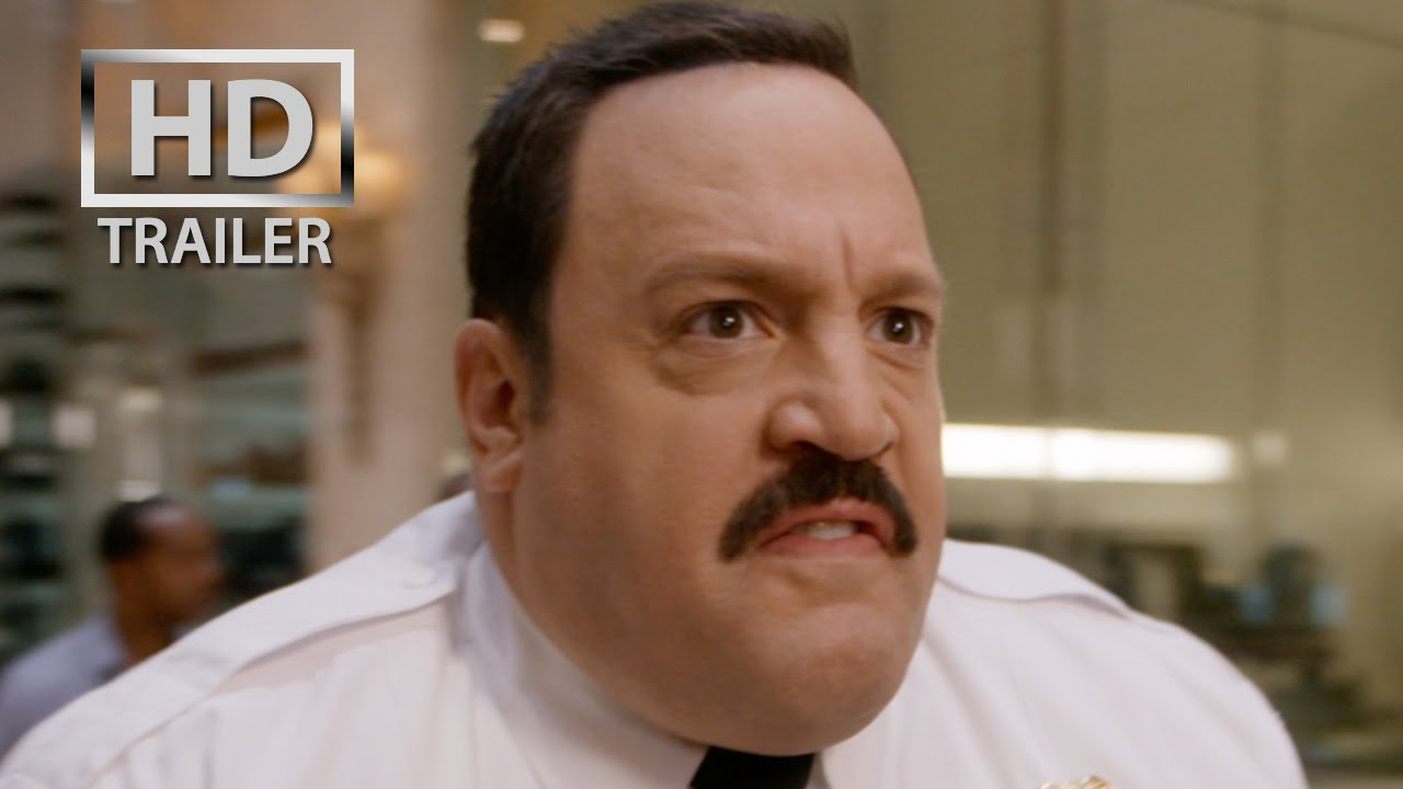 Paul blart mall cop 2 official trailer us 2015 kevin for How many kids does kevin james have