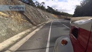 How to descend the South Eastern Freeway safely