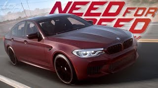 2018 BMW M5 RACE GAMEPLAY! - NEED FOR SPEED PAYBACK
