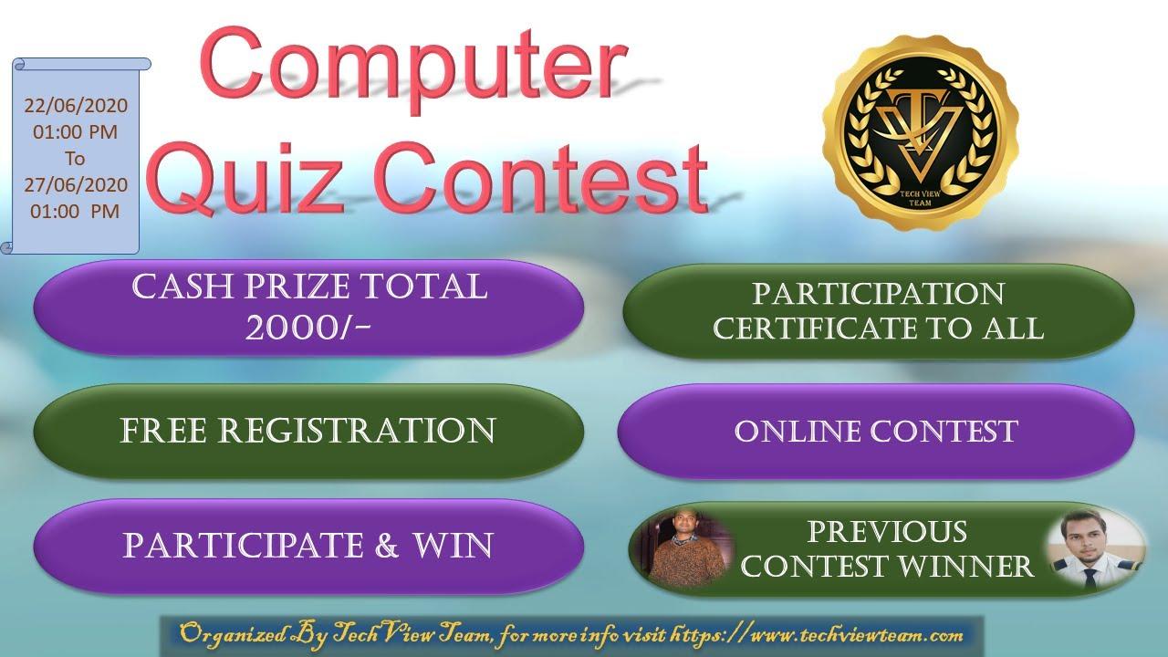 Online Quiz Win Cash