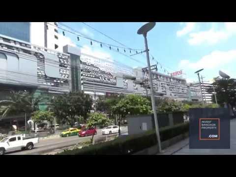 Walk Along Rama 9 MRT to Thailand Cultural Center MRT, new CBD of Bangkok