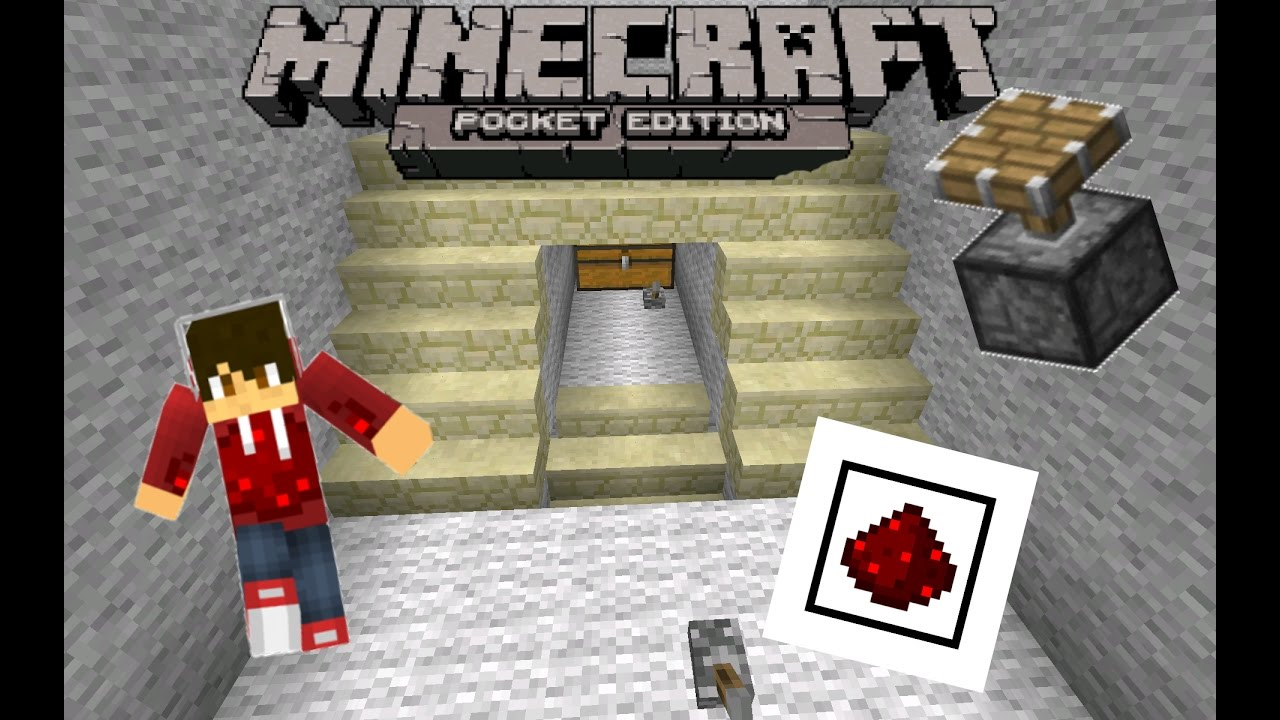 Geheime Treppe In Minecraft Pe 0 15 Pocket Redstone