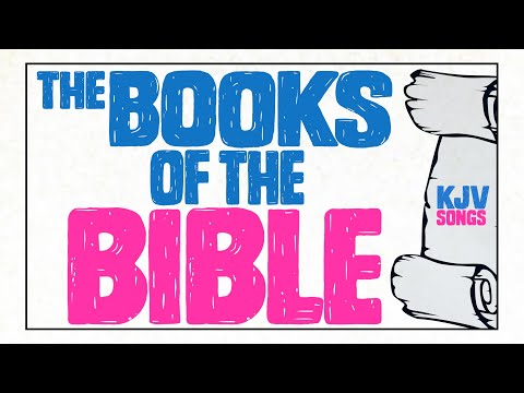 Books of The Bible Song - Original Full Video - YouTube