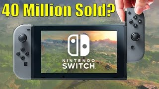 Nintendo Switch Predicted To Move 40 Million Units By 2020
