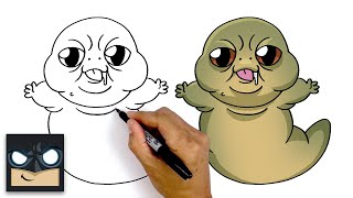 How To Draw Baby Jabba | Star Wars