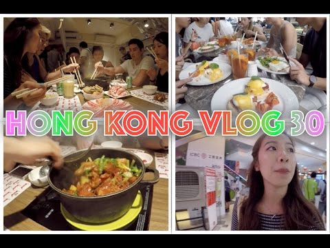 Hong Kong Vlog 30 ☁ SO much food! SimplyLife Bakery, Chicken Pot @ 66 Chicken, desserts