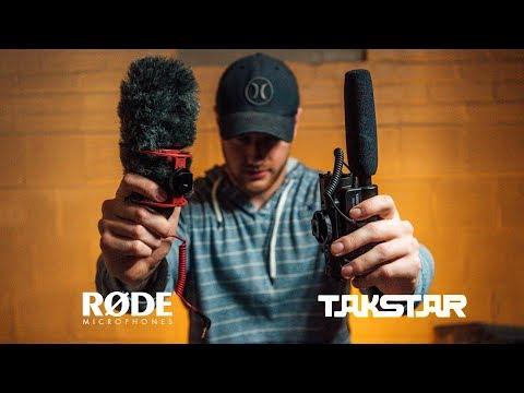 Best Shotgun Mic for DSLR! Rode v. Takstar