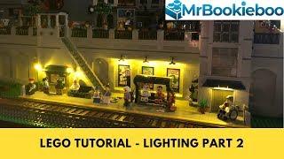 LEGO Tutorial - how to light MOCs