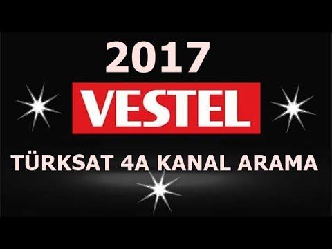 VESTEL LED TV LERDE Türksat 4A Kanal arama (otomatik arama)