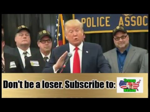 Trump Speaks in Staten Island, NY at Press Conference (4-17-16)