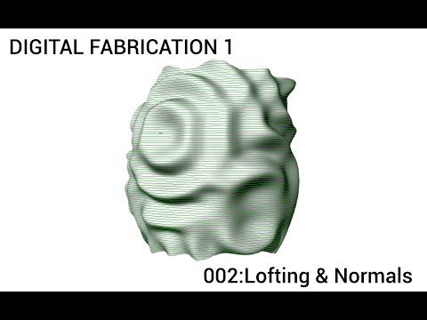 002: Grasshopper - Lofting & Surface Normals