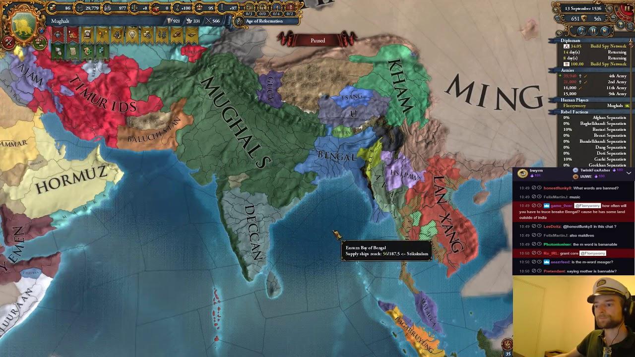 Eu4: DHARMA Afghanistan into Mughals Part 35 by MrFlorryworry