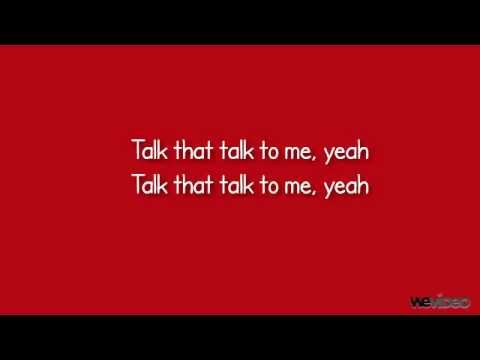 Rihanna Ft. Jay-Z Talk That Talk Lyrics-New