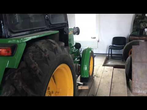 Передний ВОМ на тракторе т25