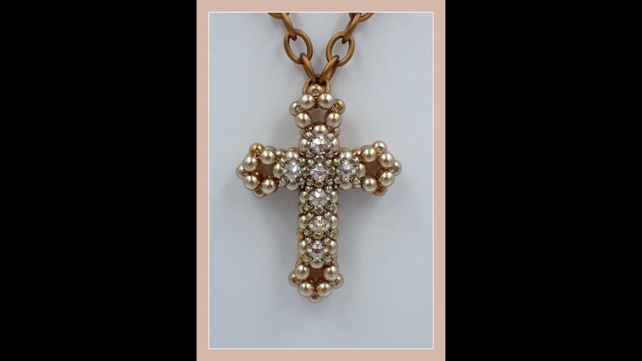3d cross with montee embellishments pendant youtube 3d cross with montee embellishments pendant aloadofball Choice Image