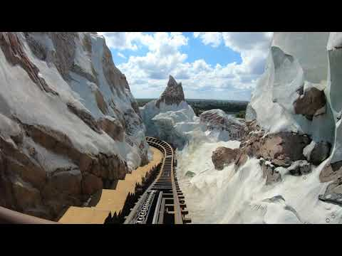 Expedition Everest 4K 60 fps GoPro Hero 7 Stabilized