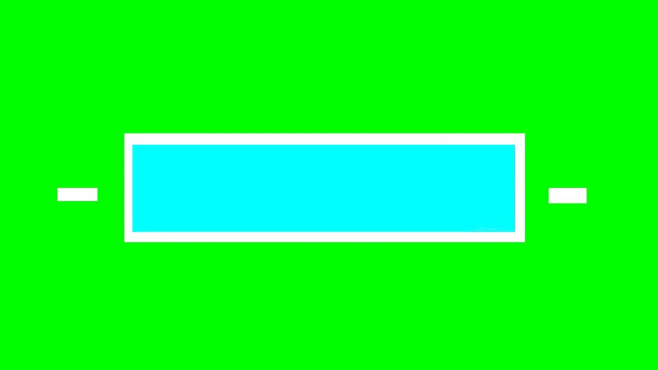 Alisha Marie Inspired Rectangle Title Green Screen (More Colours)