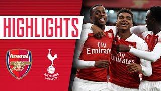 Tottenham Hotspur 0 - 4  Arsenal U23s | Goals & highlights