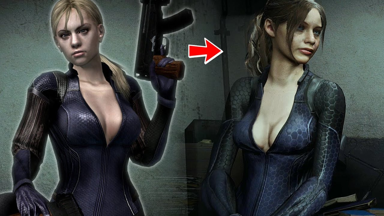 Sexy Jill Valentine Costume For Claire Redfield Resident Evil