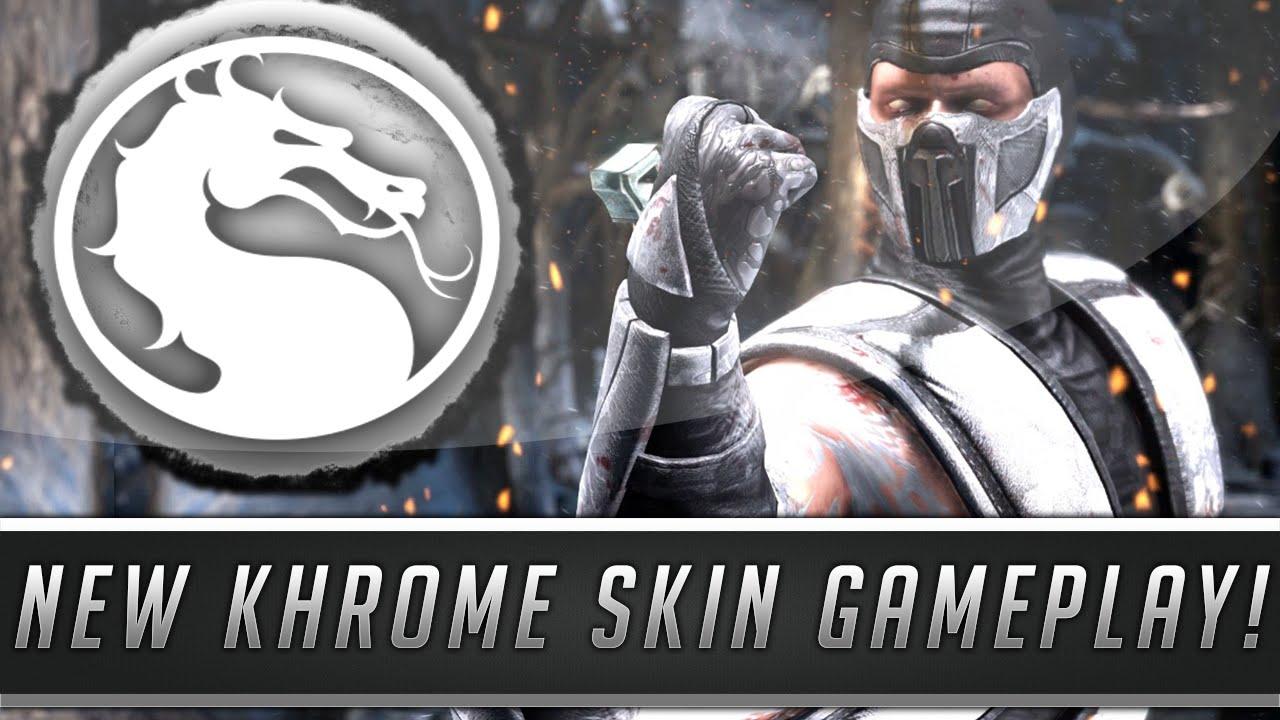Mortal Kombat X: New Klassic Khrome Skin/Costume Gameplay