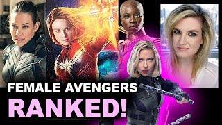 Avengers 4 - Captain Marvel, Nebula, Black Widow, Okoye & more!