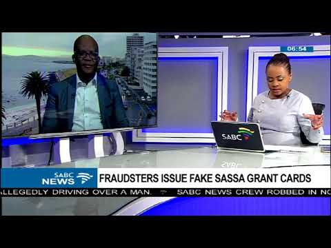 Fraudsters issue fake SASSA grant cards