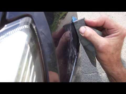 Борьба с царапинами до грунтовки на Авто