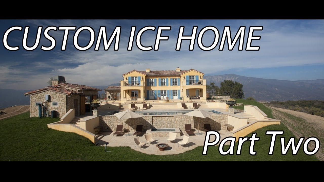 New custom icf home by macnak construction part 2 slab for What is an icf home