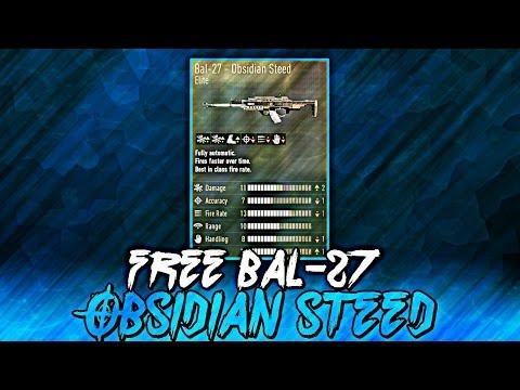 "Advanced Warfare ""Unlock Obsidian Steed"" (Free BAL 27 Obsidian Steed)"