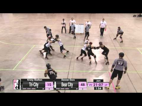 Game 1: Bear City Roller Derby v Tri-City Roller Derby