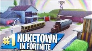Fortnite creative | Taking look at nuketown island | Watchout the island code