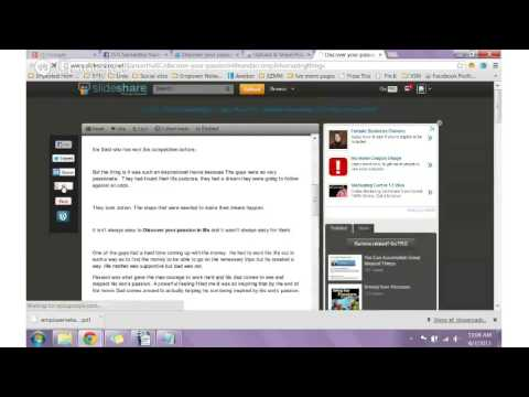 Watch me work session - Content syndication -