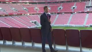 Az M1 stábja a Puskás Arénában járt, megmutatjuk hogyan is változott, szépült és újult meg a stadion