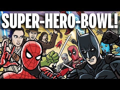 SUPER-HERO-BOWL! - TOON SANDWICH