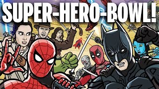 Download SUPER-HERO-BOWL! - TOON SANDWICH Mp3 and Videos