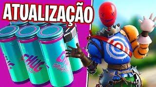 Fortnite - NOVA ATUALIZAÇÃO AGORA !! NOVO CHUG JUG & NOVAS SKINS ?!? solos & squads