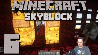 Minecraft: Skyblock Sunday with Sloth 6 SPLEEF ARENA