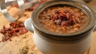 Baked Beans With Bacon And Brown Sugar Recipe (video)| Radacutlery.com