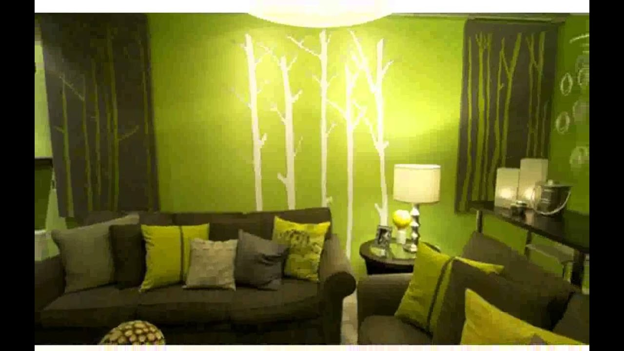 Wall Designs Paint Pictures - YouTube