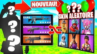 🔥LE SKIN ALEATOIRE CHALLENGE WTF - THIS KILL TO HISTORY PIEGE ON FORTNITE!