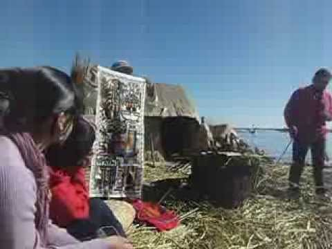 What It's Like: Touring the Floating Islands of Lake Titicaca